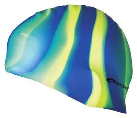 Шапочка для плавания Spokey Abstract Cup 85373, синяя (MC85373)