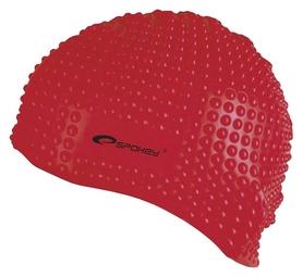 Шапочка для плавания Spokey Belbin 84126, красная (MC84126)
