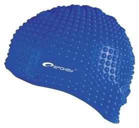 Шапочка для плавания Spokey Belbin 84127, синяя (MC84127)