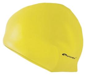 Шапочка для плавания Spokey Summer Cup 85345, желтая (MC85345)