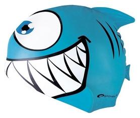 Шапочка для плавания детская Spokey Rekinek 87473, синяя (MC87473)