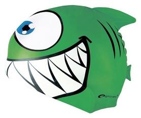 Шапочка для плавания детская Spokey Rekinek 87474, зеленая (MC87474)