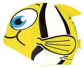 Шапочка для плавания детская Spokey Rybka 82276, желтая (MC82276)
