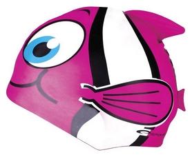 Шапочка для плавания детская Spokey Rybka 87469, розовая (MC87469)