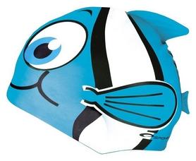 Шапочка для плавания детская Spokey Rybka 87471, голубая (MC87471)