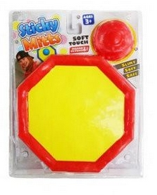 Игра с липучками Net Playz Stisky Mitts Slimy So, красная (ODLG-170682-r)