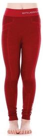 Термокальсоны детские Brubeck Active Wool, красные (LE12130-burgundy)