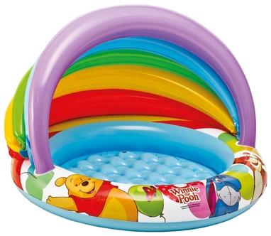 Бассейн надувной детский Intex 57424 «Винни пух», 102х13 см (57424)