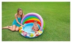 Фото 3 к товару Бассейн надувной детский Intex 57424 «Винни пух», 102х13 см (57424)