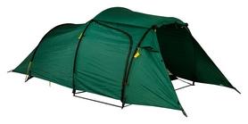 Фото 2 к товару Палатка трехместная двухслойная Wechsel Outpost 3 Zero-G + коврик Mola -  зеленая, 3 шт (922093)