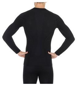 Комплект мужского термобелья Brubeck Active Wool, черный (LS12820-LE11710 black) - Фото №2