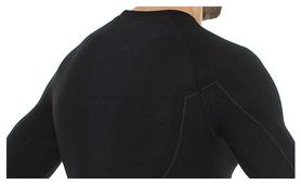 Комплект мужского термобелья Brubeck Active Wool, черный (LS12820-LE11710 black) - Фото №4