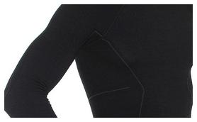 Комплект мужского термобелья Brubeck Active Wool, черный (LS12820-LE11710 black) - Фото №6