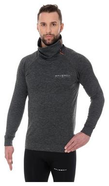 Кофта мужская спортивная Brubeck Fusion, темно-серая (LS13540-graphite)