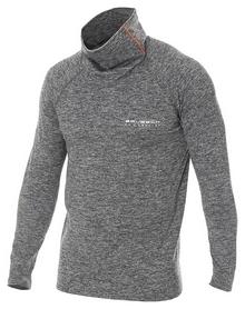 Кофта мужская спортивная Brubeck Fusion, серая (LS13540-grey)