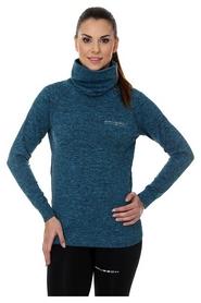 Кофта женская спортивная Brubeck Fusion, синяя (LS13550-turquoise)