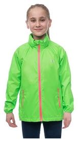 Куртка мембранная детская Mac in a Sac Neon Kids, зеленая (YY NEOGRN)