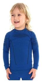 Футболка детская с длинным рукавом Brubeck Thermo, синяя (LS13660-blue)