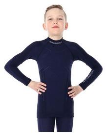 Футболка детская с длинным рукавом Brubeck Active Wool (LS13680-navy blue)