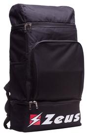 Рюкзак спортивный Zeus Zaino Qubo Nero Z00893, черный (2000000093208)