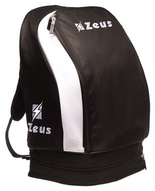 Рюкзак спортивный Zeus Zaino Ulysse Ne/Bi Z00481, черно-белый (2000000060651)