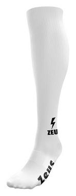 Гетры футбольные Zeus Calza Energy Bianc, белые (Z00045)