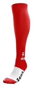 Гетры футбольные Zeus Calza Energy Rosso, красные (Z00057)