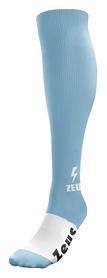 Гетры футбольные Zeus Calza Energy Sky, голубые (Z00060)