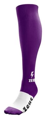 Гетры футбольные Zeus Calza Energy Viola, фиолетовые (Z00064)