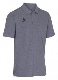 Футболка мужская Select Torino Polo, серая (625100-002)