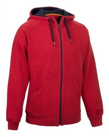 Толстовка Select William ZIP Hoody, красная (626200-012)