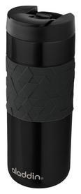 Распродажа*! Термокружка Aladdin Easy-Grip - черная, 0,47 л (6939236342681)