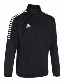 Кофта тренировочная Select Argentina training sweat 1/2 ZIP - черная 622710 (010)