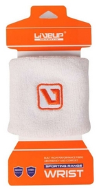 Повязка на кисть (напульсник) LiveUp Wrist Support LS5750w, белая