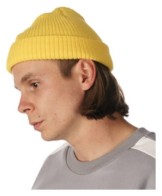 Шапка зимняя 2day Beanie, желтая (10115OS)
