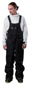 Штаны для сноубординга 2day Freeride Pants, черные (10024)
