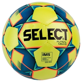 Мяч футзальный Select Futsal Mimas Light New 104143 (365) - желто-синий, №4 (5703543187058)
