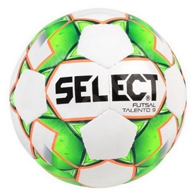 Мяч футзальный Select Futsal Talento11, 106143 (327) - бело-зеленый, №4 (5703543187126)