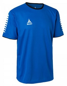 Футболка футбольная Select Italy Player Shirt S/S - синяя 624100 (004)