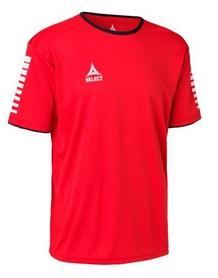 Футболка футбольная Select Italy Player Shirt S/S - красная (624100 (012)