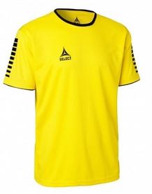 Футболка футбольная Select Italy Player Shirt S/S - желтая (624100 (020)