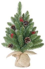 Сосна искусственная Black Box Trees Edelman Creston Frosted, 0,45 м (8718861153040)