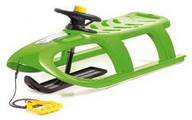 Санки зимние Prosperplast Bullet Control, зеленые (5905197069739)