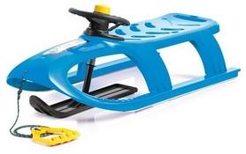 Санки зимние Prosperplast Bullet Control, синие (5905197190822)