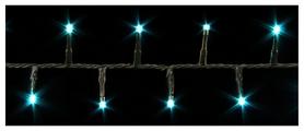 Гирлянда Luca Lighting -  голубая, 13,4 м (8718861124736)