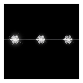 Гирлянда Luca Lighting «Снежинка», 2,2 м (8712799936652)
