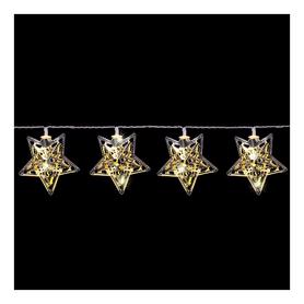 Гирлянда Luca Lighting «Золотистые звезды», 1,35 м (8712799938526)