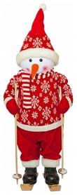 Фигурка новогодняя «Веселый красный снеговик», 82 см (4820211100438)
