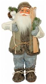 Фигурка новогодняя Санта Клаус, 60 см (4820211100407)