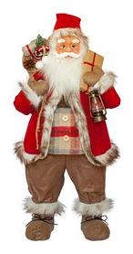 Фигурка новогодняя Санта Клаус, 81 см (4820211100414)